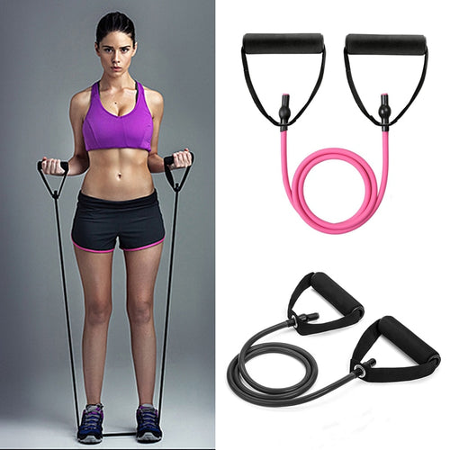 2019Pull Rope Fitness Resistance Bands Resistance Rope Exerciese Tubes Elastic Exercise Bands for Yoga Pilates  Gym Equipment