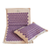 Sensation Mat and Pillow Set - Natural - Purple