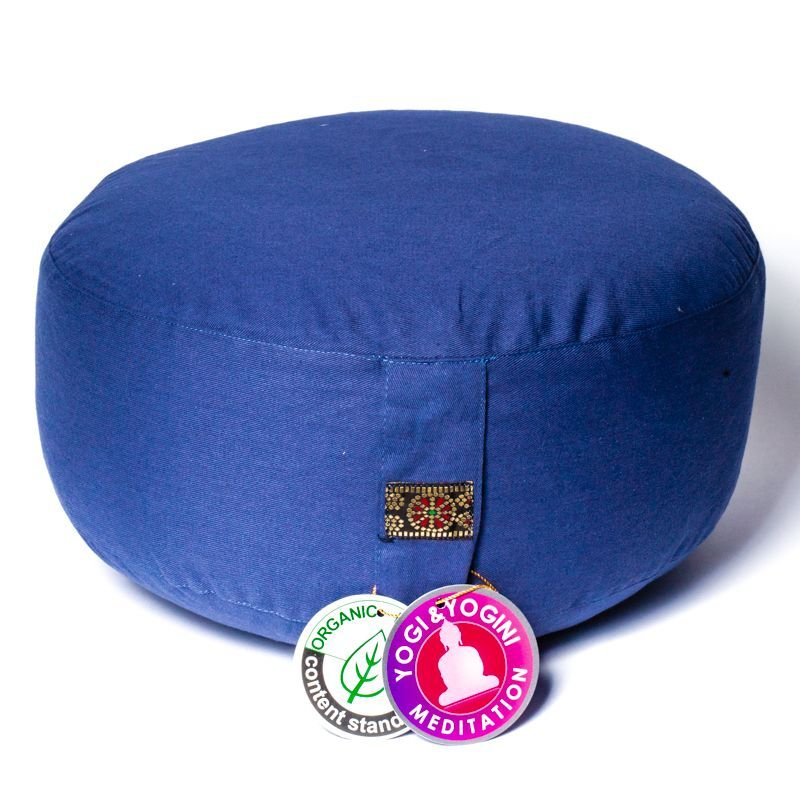 Buckwheat Meditation Cushion - Green Yoga Project