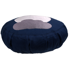 Load image into Gallery viewer, Medidation cushion kids moon greenyogaproject yoga pillow