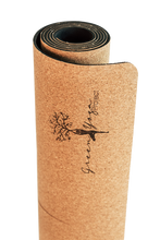 Load image into Gallery viewer, Yoga mat organic cork