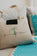 Sensation Mat and Pillow Set - Natural - Turquoise