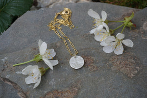 Moon Mama Necklace- Gold and Silver