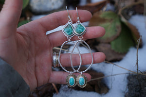 Lucent Hoop Dangles