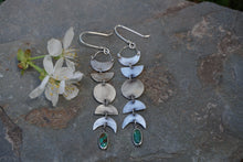 Load image into Gallery viewer, La Luna Earrings- Sterling Silver