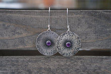 Load image into Gallery viewer, Guiding Star Earrings- Amethyst