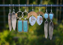 Load image into Gallery viewer, First Light Points- Lavender Turquoise