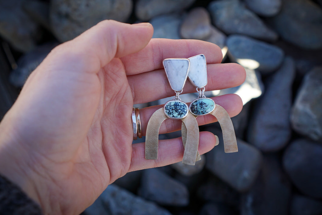 Custom Arches Post Earrings