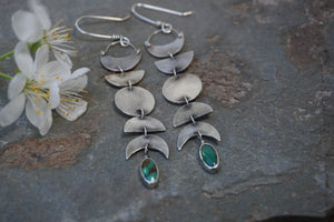 La Luna Earrings- Sterling Silver