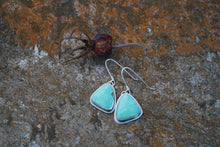 Load image into Gallery viewer, Essential Earrings- Green Kingman Turquoise