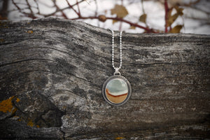 Calamity Necklace- Desert Picture Jasper