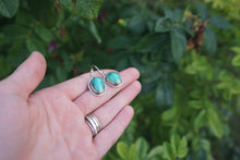 Load image into Gallery viewer, The Little Things Earrings- Fox Turquoise
