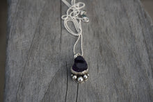 Load image into Gallery viewer, Flora Necklace- Raw Amethyst