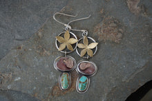 Load image into Gallery viewer, Flower Power Earrings I