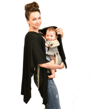 Nursing Shawl - Black