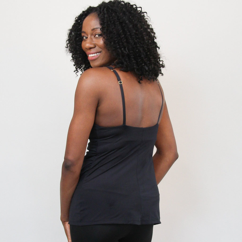 Anytime Wirefree Camisole -Black