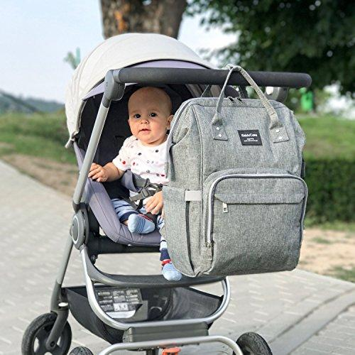 Multi-function Waterproof Diaper Bag Backpack