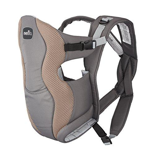 Grey Mist Breathable Soft Baby Carrier