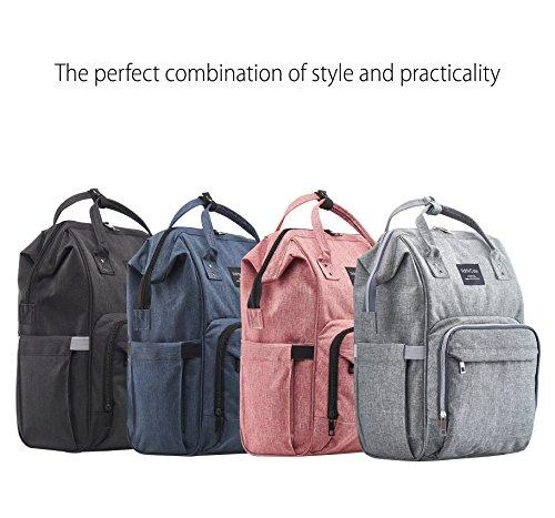 Various Colored Multi-function Waterproof Diaper Bag Backpack