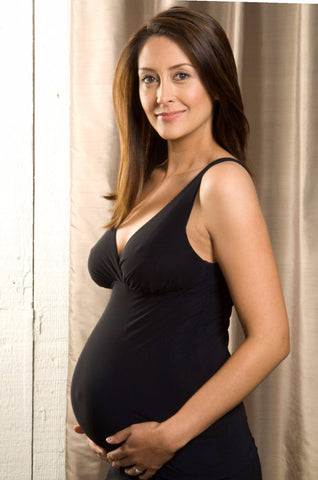 Anytime Maternity Tank Black