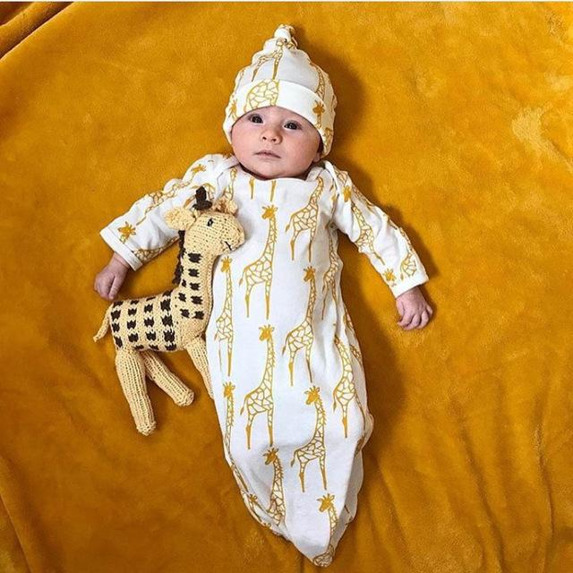Newborn Infant Kids Baby Girls Boys Giraffe