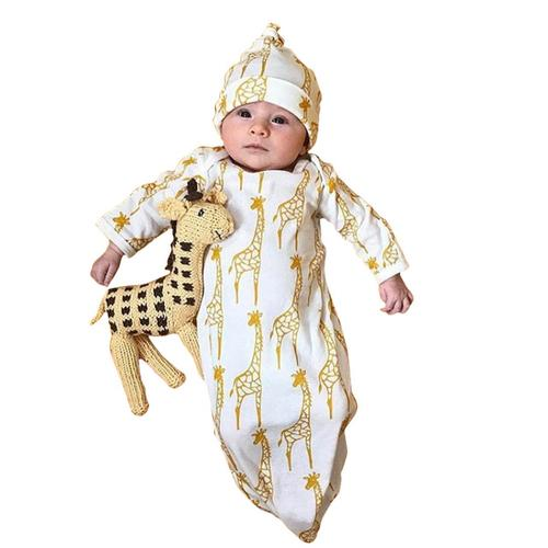 Newborn Infant Kids Baby Girls Boys Giraffe - 1 / NB-6M