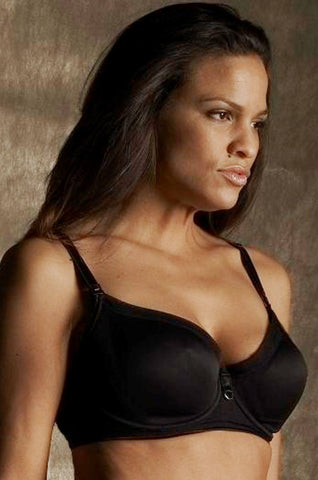 Smooth Underwire Nursing Bra Black