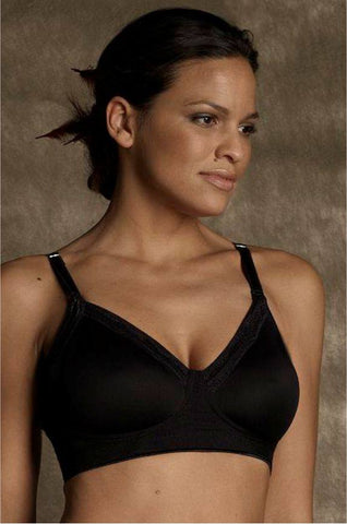 Smooth Wirefree Nursing Bra Black