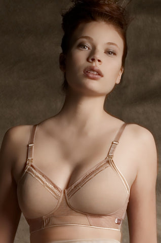 Smooth Wirefree Nursing Bra Rose