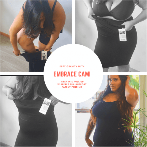 Image of Embrace Maternity Camisole  - Full Bra support - Bella Materna Maternity Clothing, Bella Materna, Bella Materna usa lingerie, nursing bra, maternity bra, bras