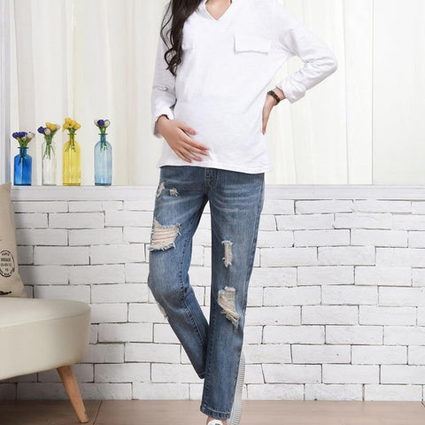 Image of Everyday Adjustable Maternity Jeans