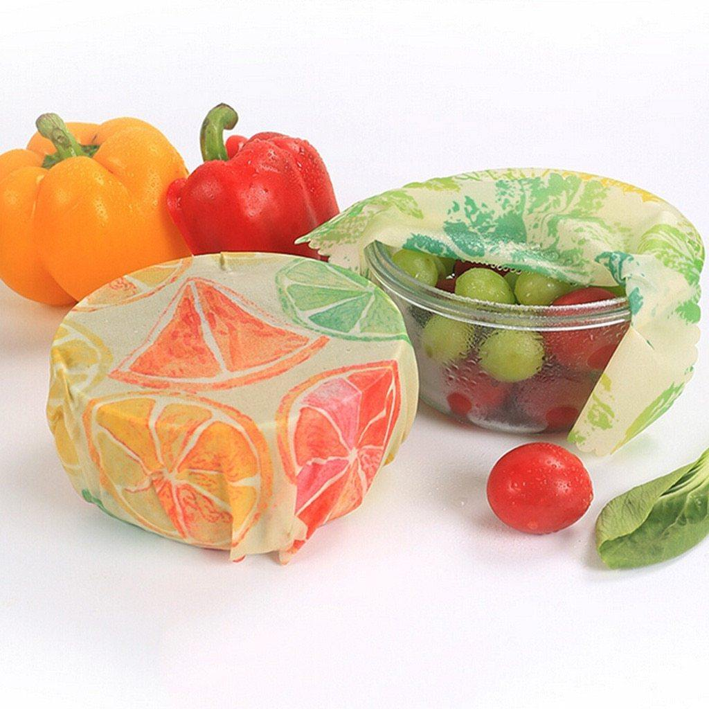 Reusable Natural Food Storage Wrap