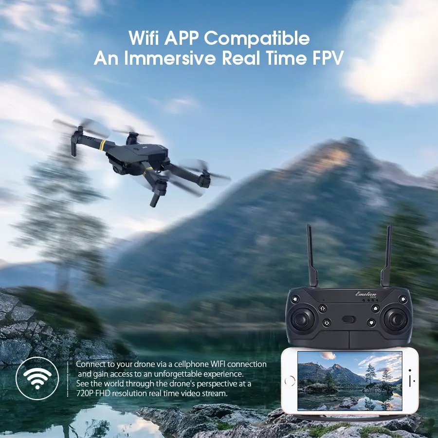 Wifi APP Compatible An Immersive Real Time FPV