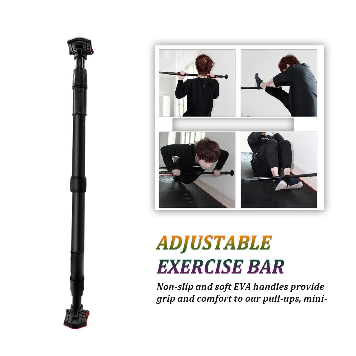 ADJUSTABLE EXERCISE BAR