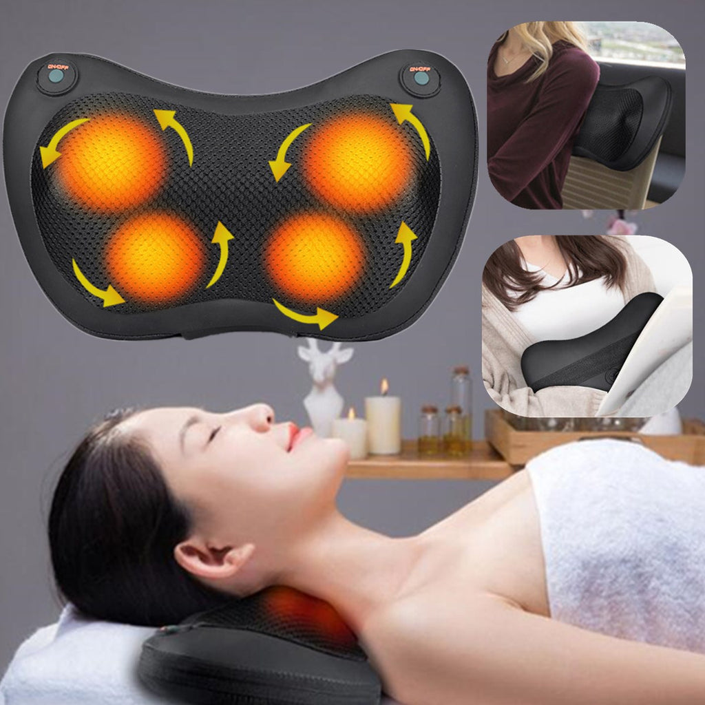 SelfCareX™ Neck Relaxation Pillow Massage Vibrator Infrared therapy