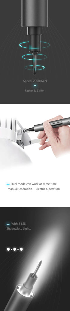 Wowstick™ 1F+ 64 In 1 Electric Screw Driver Cordless Power