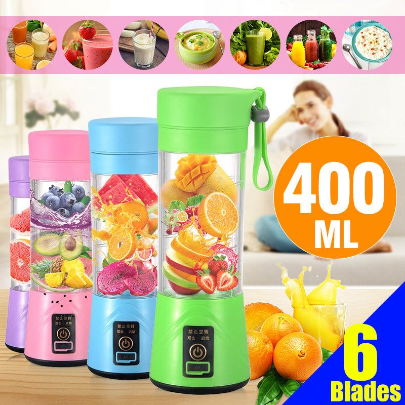 LoveItJuice™ 400ml Usb Handheld Portable Electric Juicer Shaker Mixer Cup