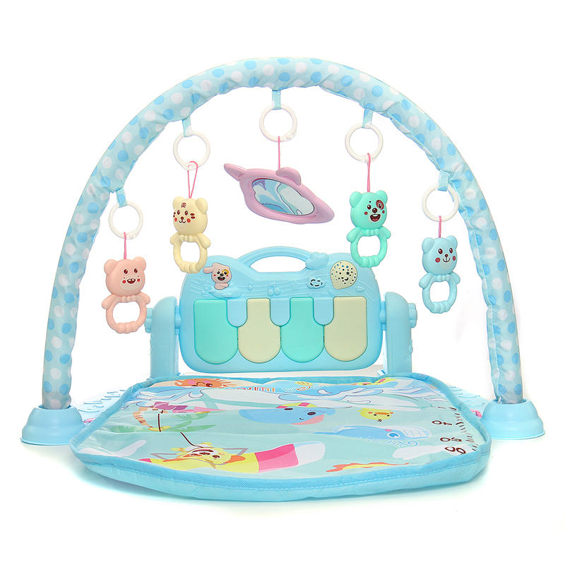 BestBaby™ Baby Play Mat Play Gym Game Music Fitness Blanket