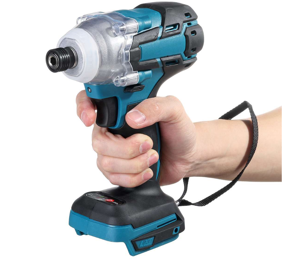 BestDIY™ Cordless Brushless Impact Wrench 18v 520N.m Adapted To Makita