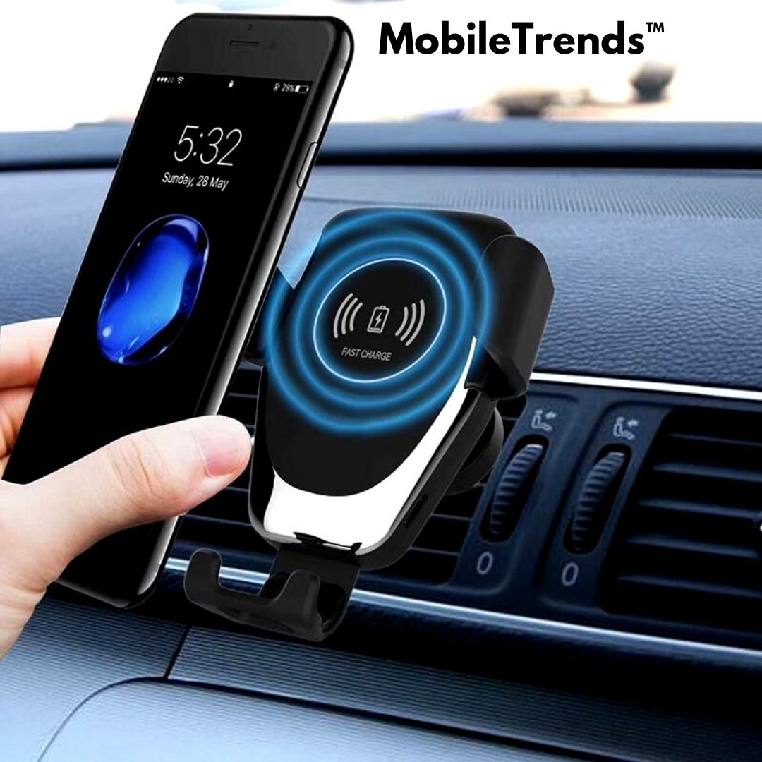 MobileTrends™ Wireless Automatic Sensor Car Phone Holder And Charger