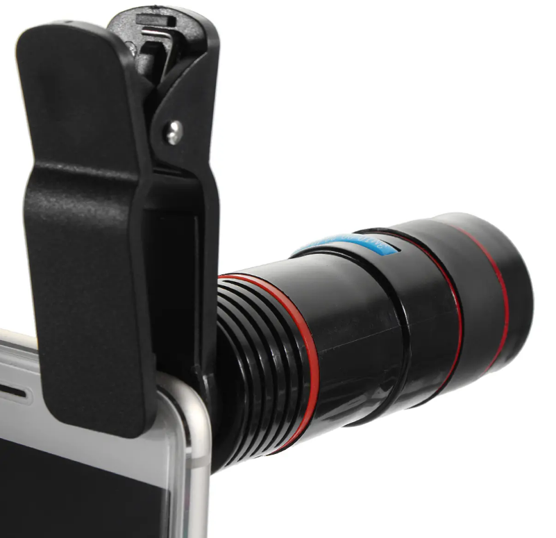 SmartZoomX™ Universal Telescope Clip-on Camera Lens For Smartphones