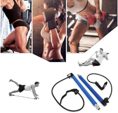 HomeFitX™ Elastic Home Gym Bar For Multifunctional Body Beauty Workout
