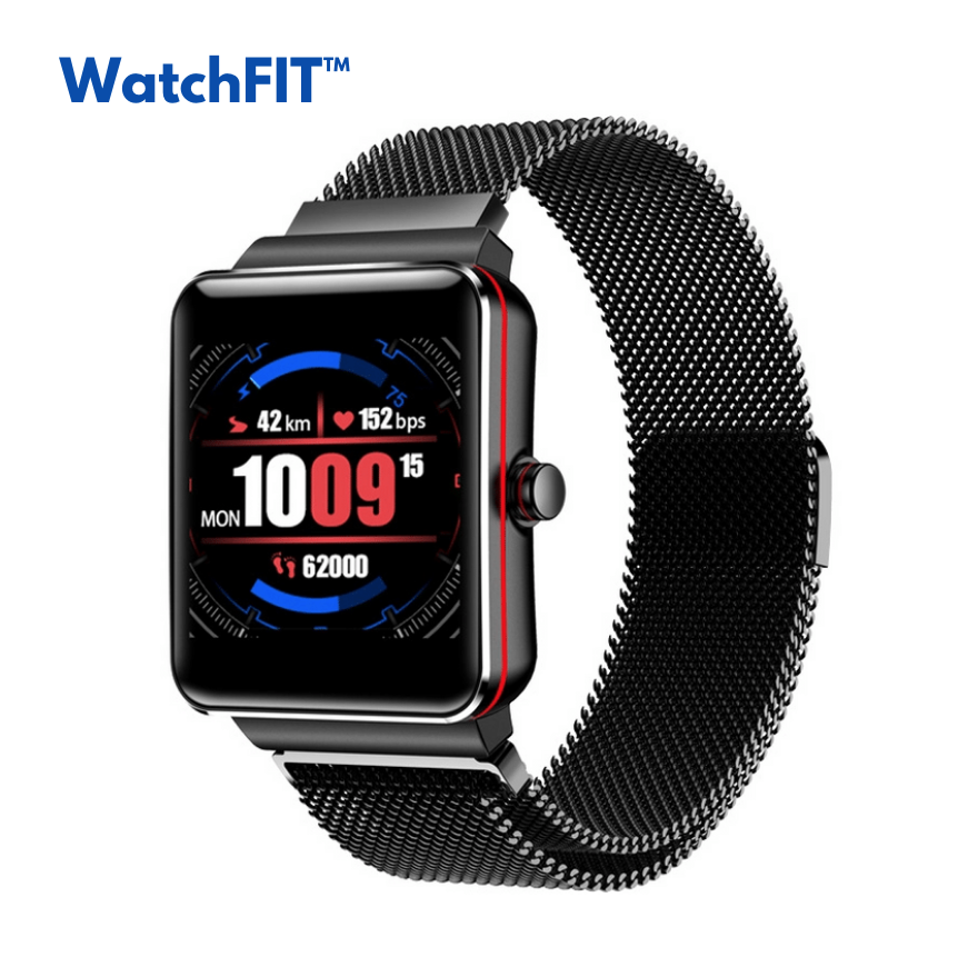 WatchFIT™ Heart Rate Blood Pressure Intelligent Smart Watch Alarm Clock