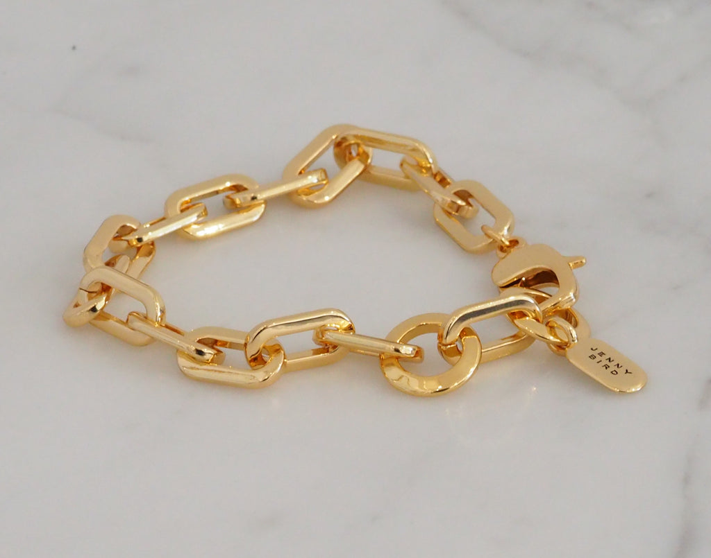 Toni Bracelet, High Polish Gold