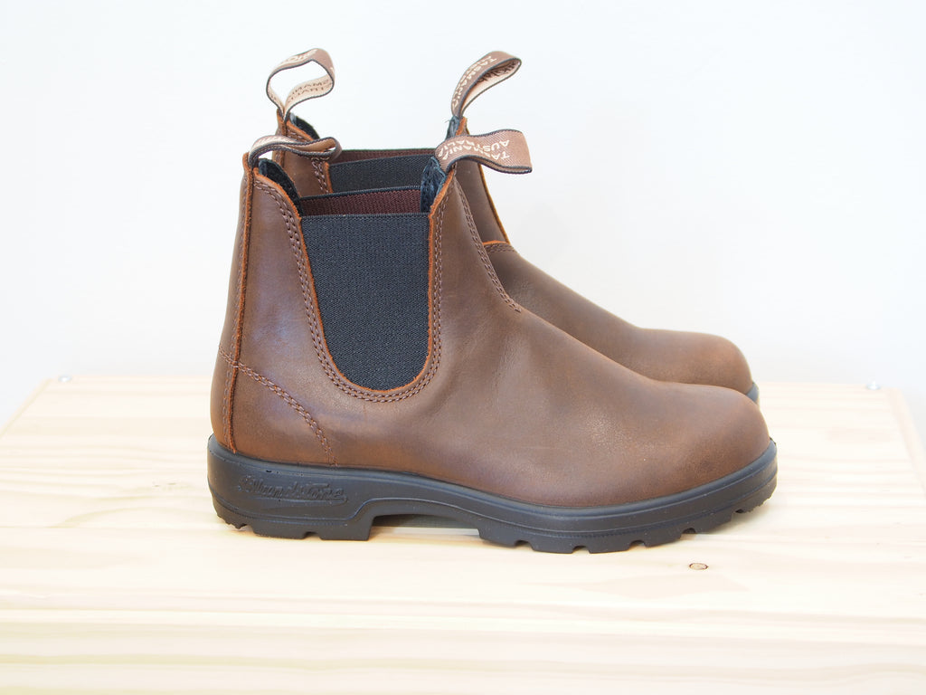 1609, Chelsea Boot, Antique Brown