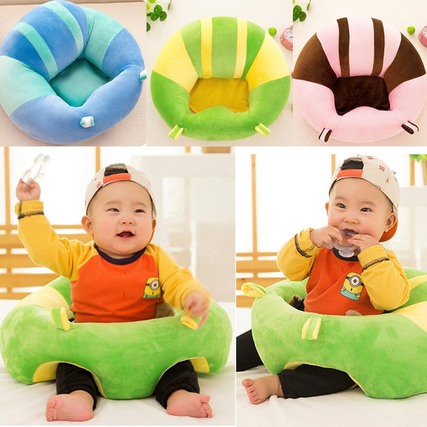 Infantil Baby Sofa Baby Seat Sofa Support Cotton Feeding Chair For Tyler Miller Pillow Cushion Baby Nest Puff Toys