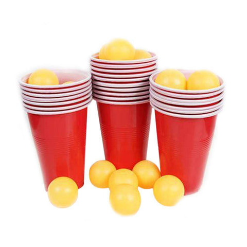 Image of Beer Pong Party Game - Bee Bee Shopping USA