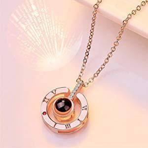 Love Projection Pendant Necklace - Bee Bee Shopping USA