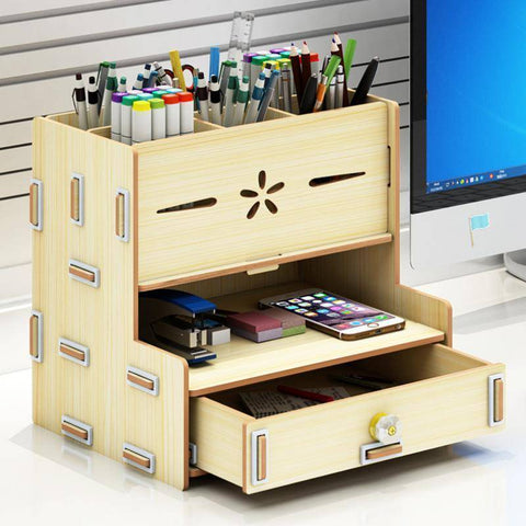 Image of Stationery Storage Desk Cabinet - Bee Bee Shopping USA