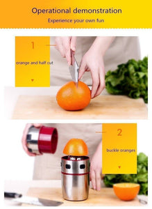 Stainless Steel Portable Orange Juicer - Bee Bee Shopping USA